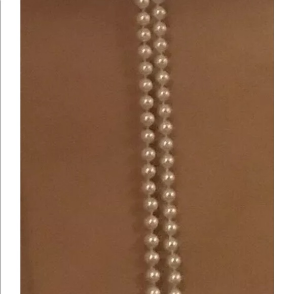 Talbots Accessories - New Talbots Pink Ribbon Pearl Belt or Necklace $44